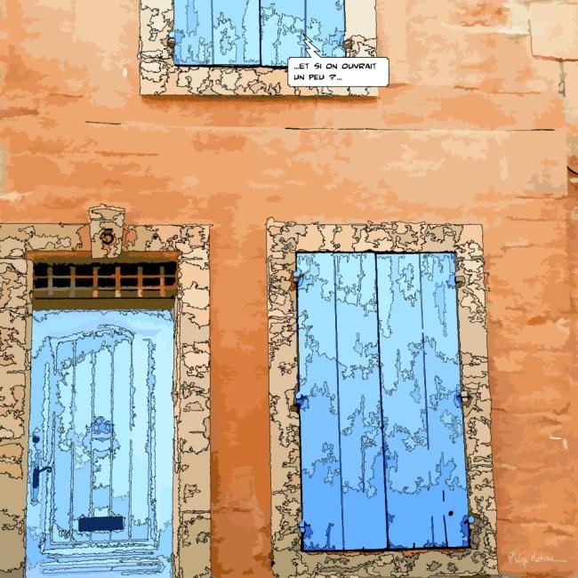 volets bleus -- Medium 80x80 239€ // Large 120x120 429€