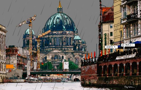 Berlin Venedig DE -- Medium 90x60 229€ // Large 140x90 429€