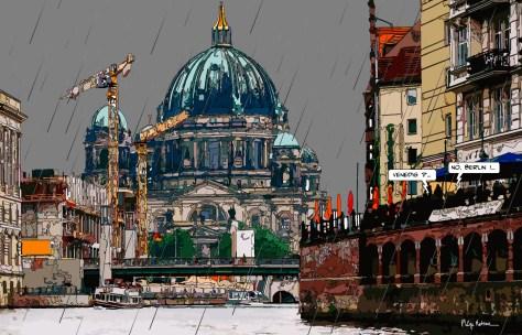 Berlin Venedig DE -- Medium 90x60 229€ // Large 140x90 429€