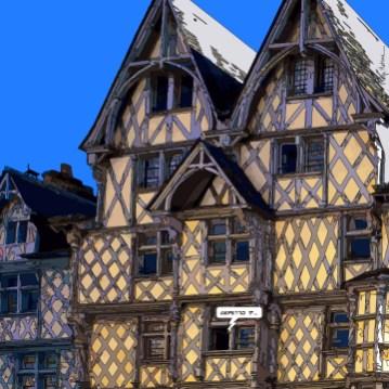 Angers // maison Adam jour -- Medium 80x80 239€ // Large 100x100 299€ // XLarge120x120 449€