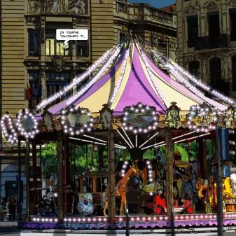 Lyon // Manège -- Medium 80x80 239€ // Large 100x100 299€ // XLarge 120x120 449€