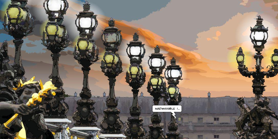 Paris // Inadmissible -- Medium 100x50 229€ // Large 160x80 479€