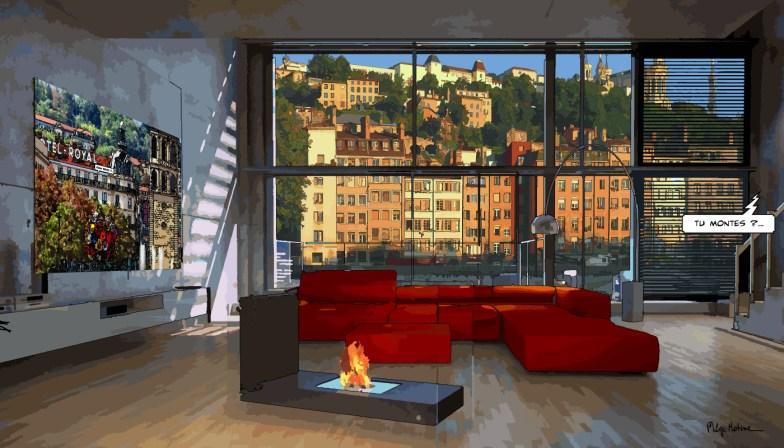 Lyon // Loft Saône -- Medium 90x50 219€ // Large 140x80 429€