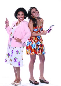 Eugene Domingo and Divine Grace