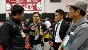 assistant trainer Marvin Somodio nga nahinabi sa Philippine Asian News Today- CANADA