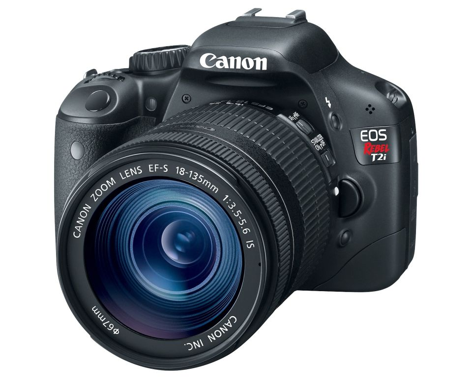 canon eos rebel t2i dslr camera