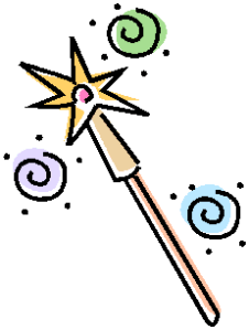 Three Wishes Wand