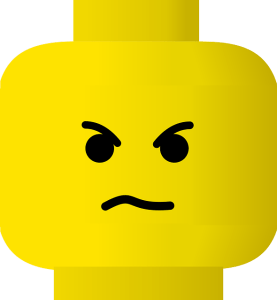 lego angry face