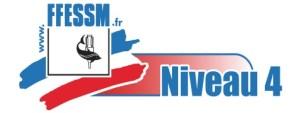 Logo FFESSM Niveau 4