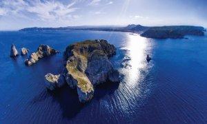 Vue aérienne Iles Medes