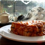 Beans on Toast at The Glentress Cafe