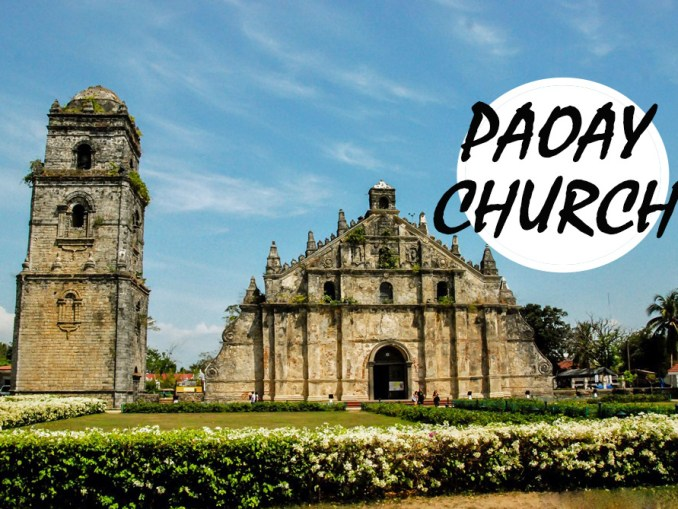 paoay church, ilocos, norte, philippines, manila, catholic