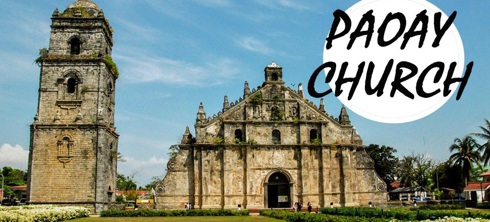 paoay church, ilocos, norte, philippines, manila, catholic