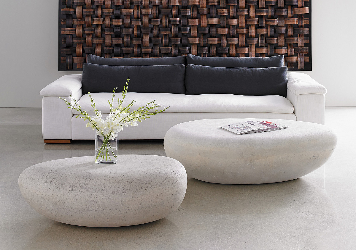 River Stone Coffee Table Phillips Collection Rascalartsnyc