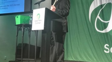 News: Steve P. Addresses Cedar Park Chamber Meeting