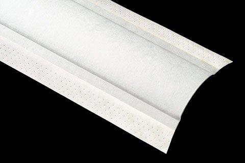 """paper faced metal corner bead 1-1/2"""" Bullnose Splay (PJT)"""