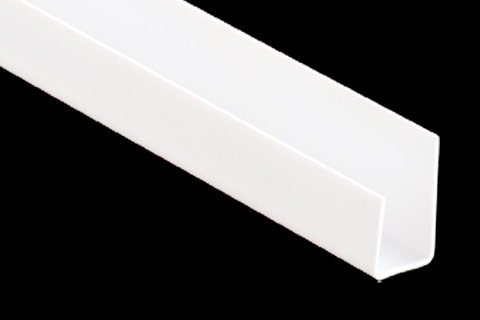 vinyl j-trim by phillips manufacturing for finishing near window and doors