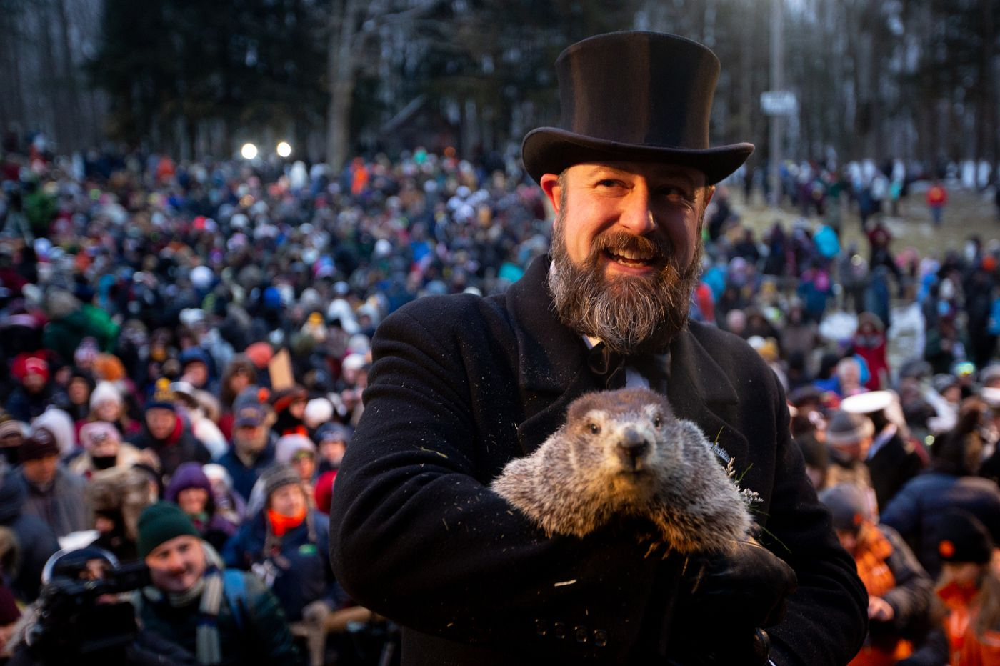 Groundhog Day The Improbable Holiday That Brings A Shot