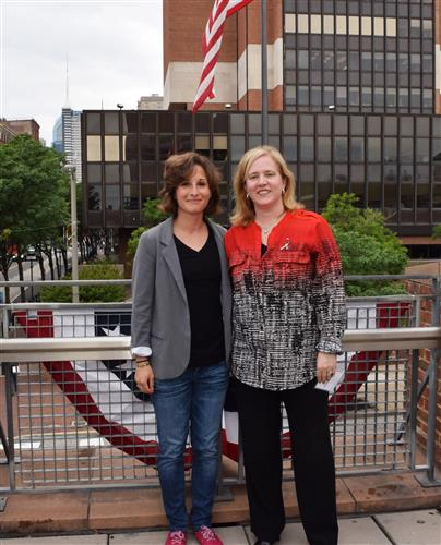 Andrea C. Anastasi and Catherine Libertz.