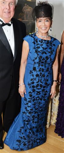 Phil and Rita Harper with Hadia Tolson.