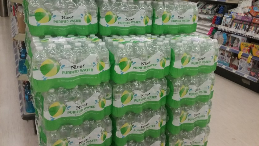 Nice! Purified Bottle Water at Walgreens