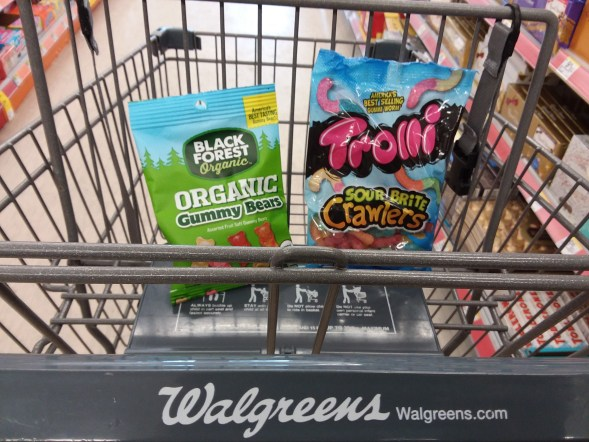 trolli and black forest at walgreens