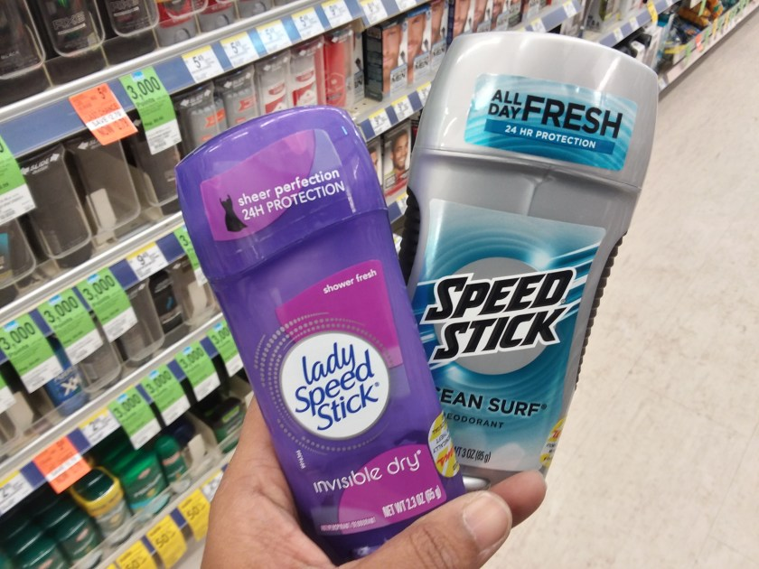 Speed Stick or Lady Speed Stick at Walgreens