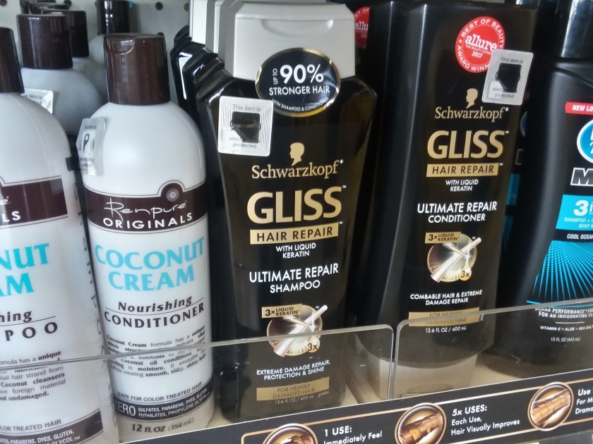 Dollar General Schwarzkopf Gliss Hair Products Only 300 Ends 1
