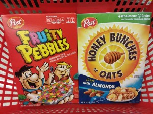 Post Cereals at Shoprite
