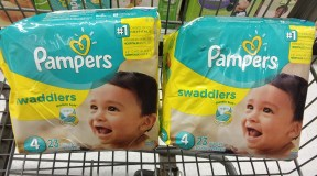 Pampers Diapers or Easy Ups, only $5.99 at Shoprite, ends 2/16!