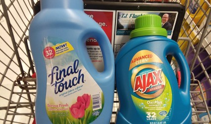 ajax or final touch at shoprite