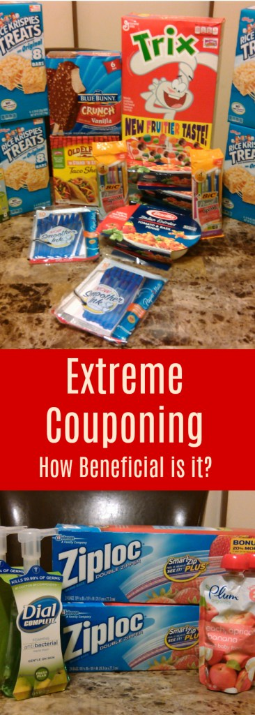 How Beneficial is Couponing Pinterest image