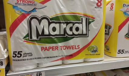 marcal paper towels at shoprite - Philly Coupon Mom