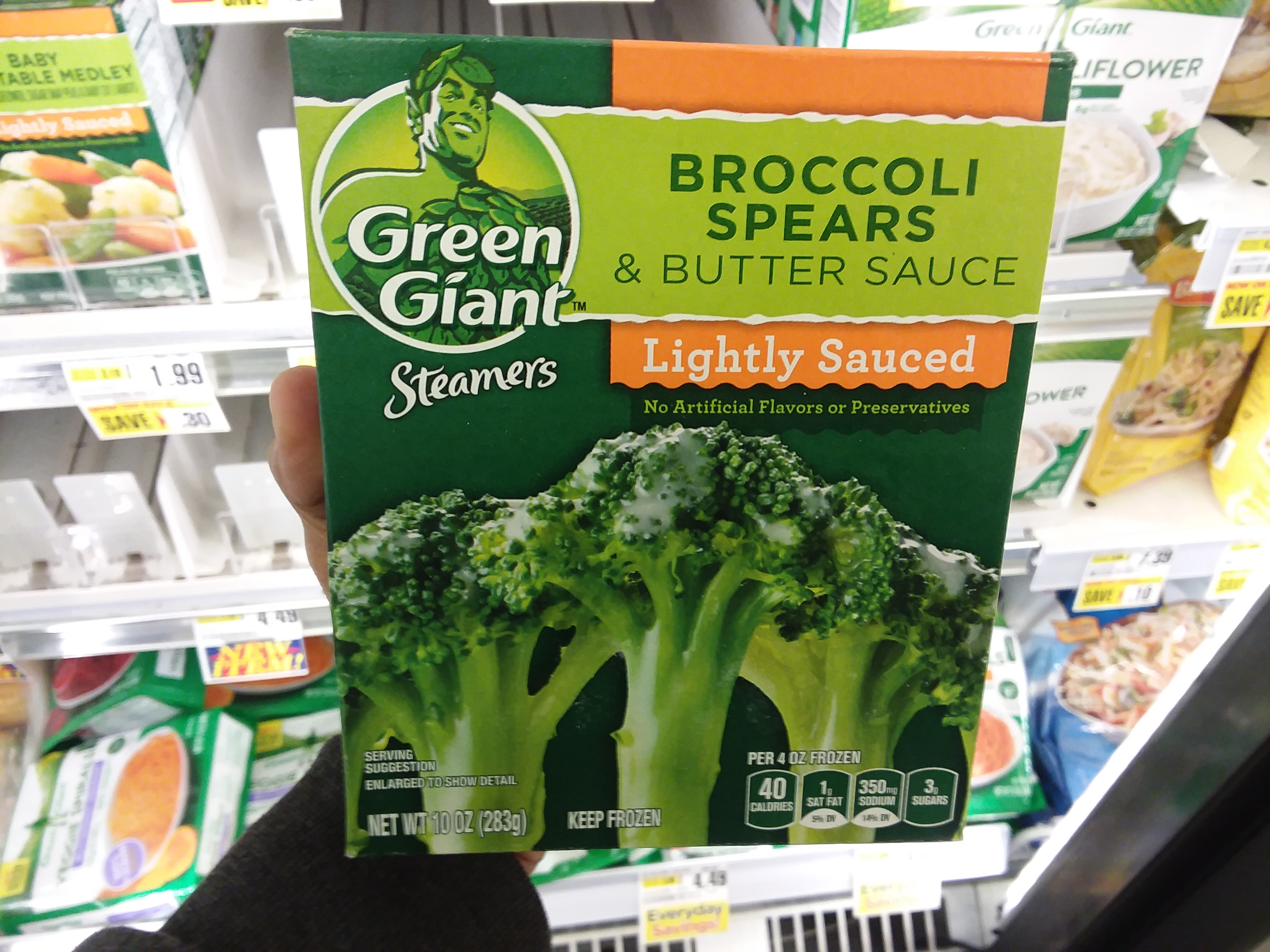 green giant steamers at shoprite