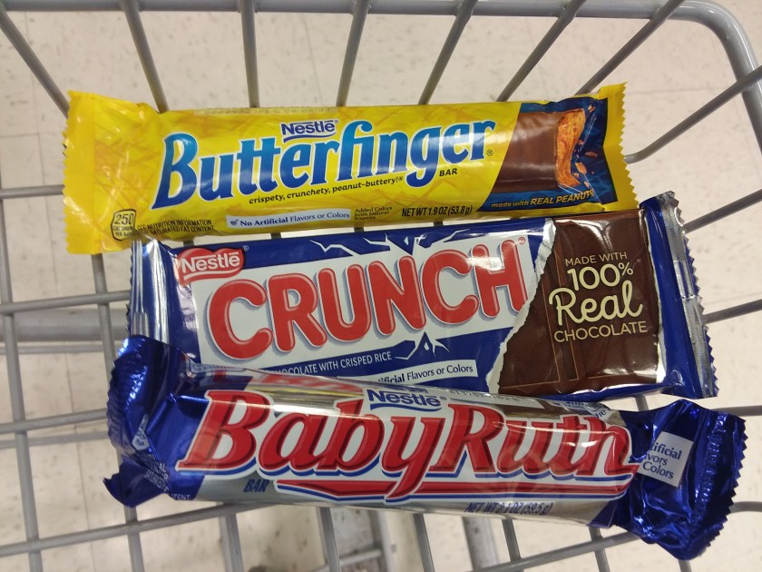 Nestle Candy Bars at Rite Aid