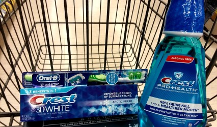 Crest Toothpaste, Toothbrush & Mouthwash at Walgreens