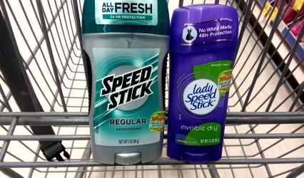 Speed Stick & Lady Speed Stick at Walgreens - Philly Coupon Mom