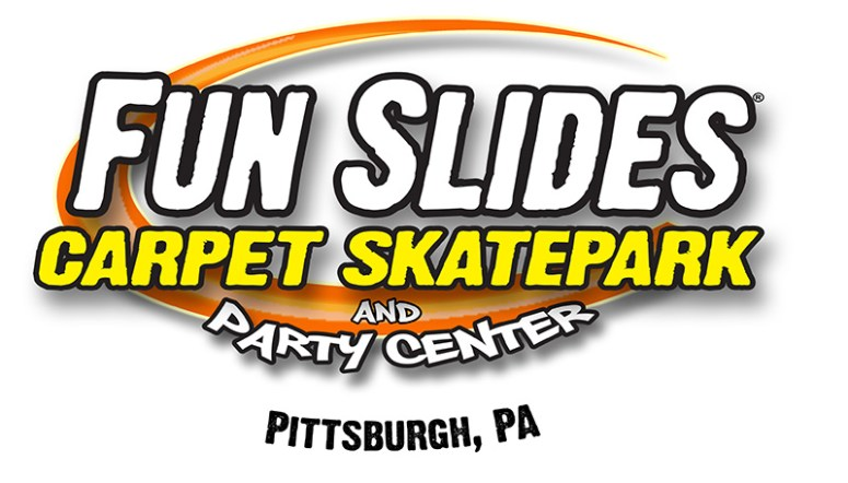 Fun Slides Carpet Skatepark Logo - Philly Coupon Mom