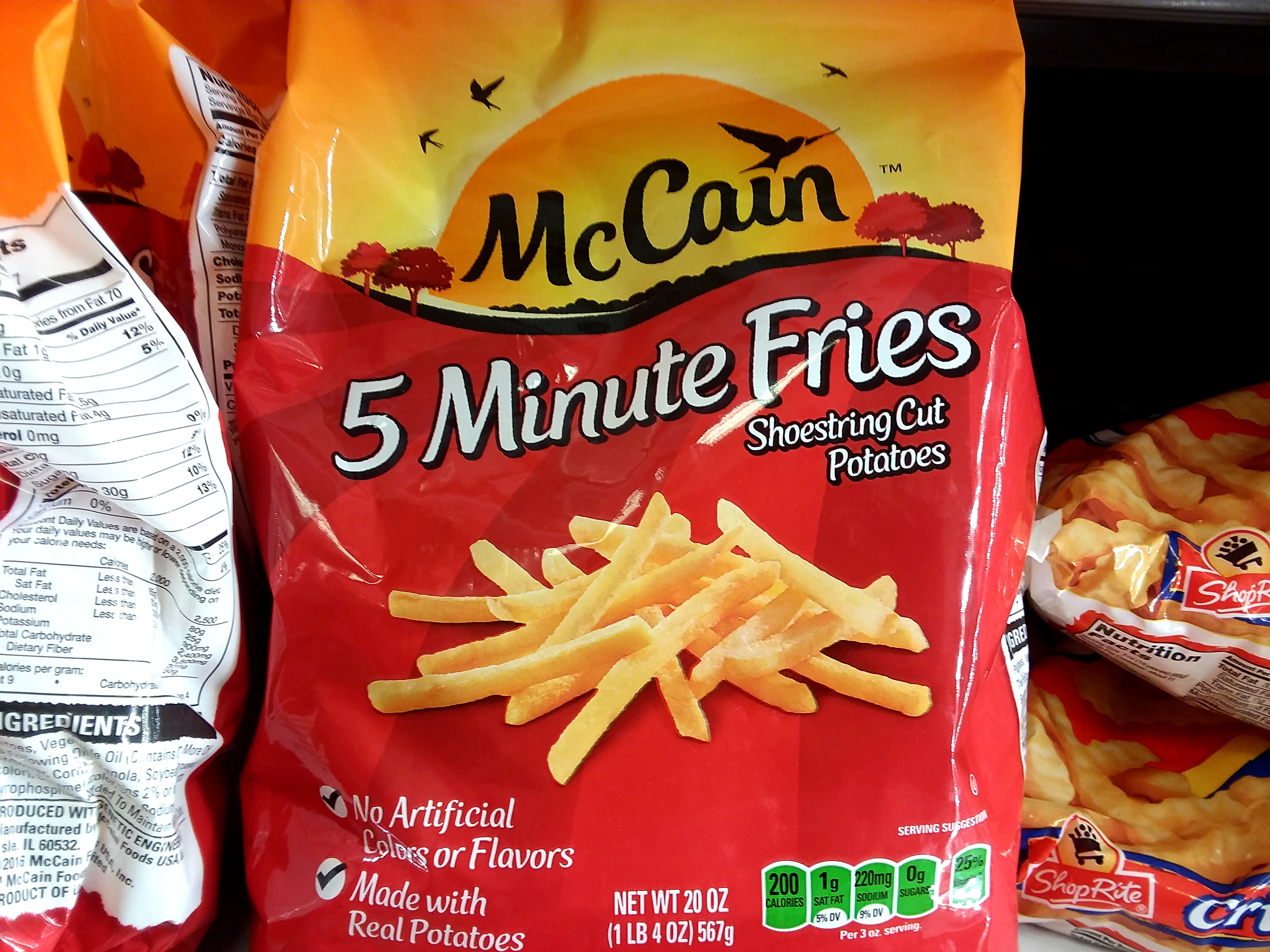 McCain Fries at Shoprite