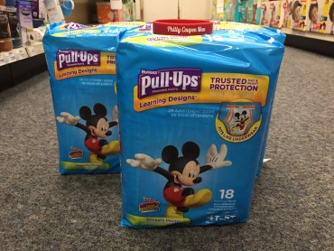 Huggies Pull-ups at CVS