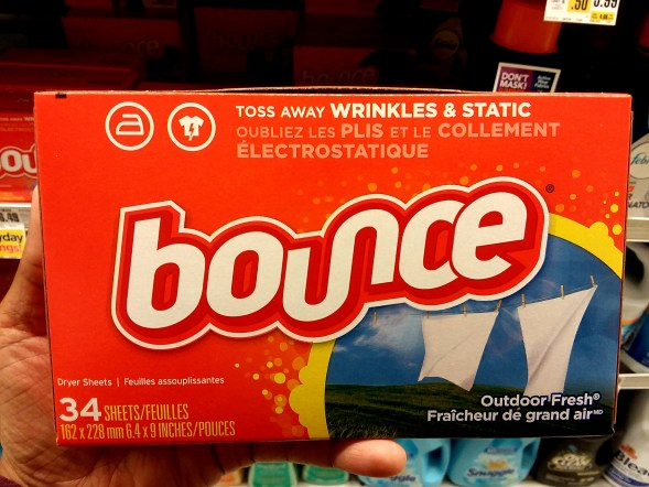 Bounce Dryer Sheets at Shoprite