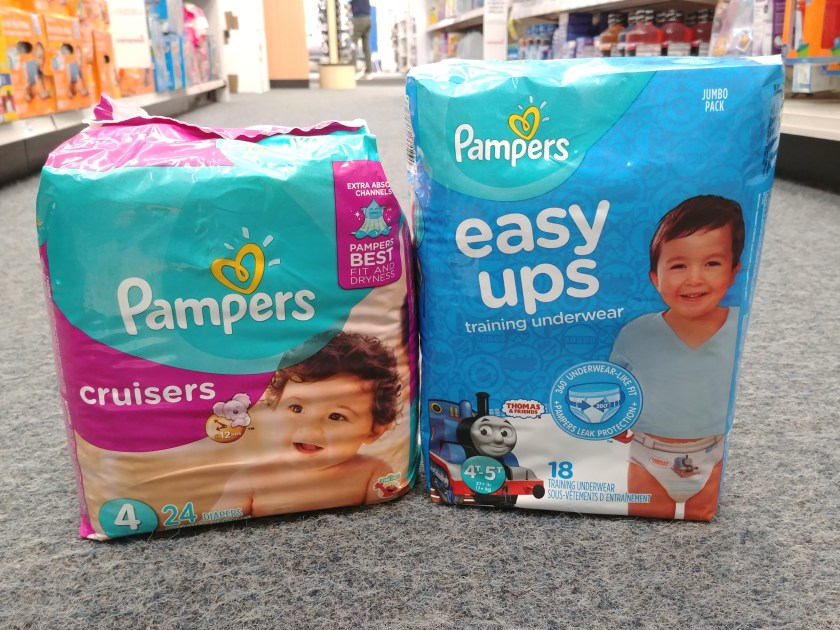 Pampers Diapers & Easy Ups at CVS
