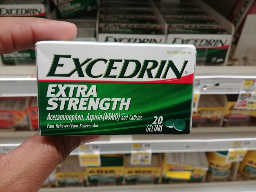 Excedrin at Shoprite