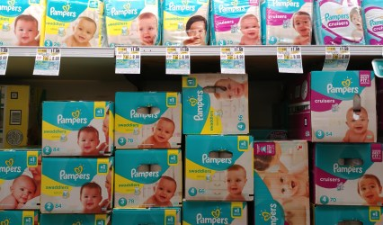Pampers Splashers at Shoprite