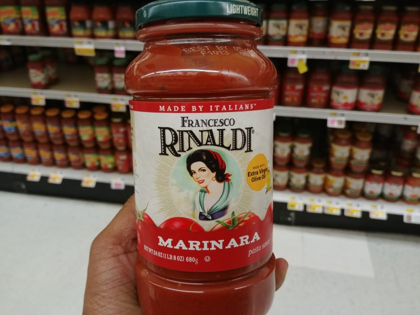 Francesco Rinaldis Pasta Sauce at Shoprite