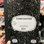 Marble Composition Book at Shoprite