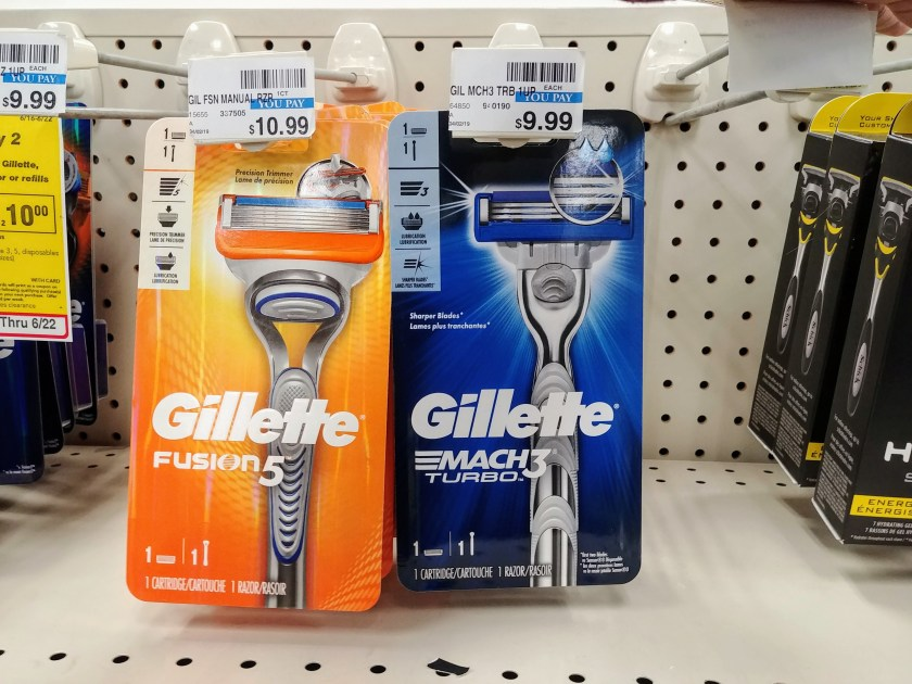 Gillette at CVS
