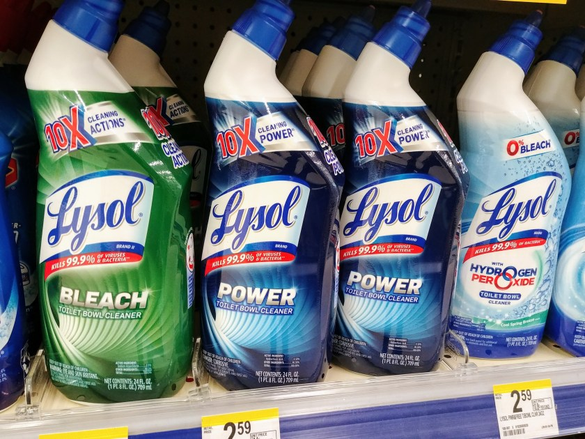 Lysol Toilet Bowl Cleaner at Walgreens