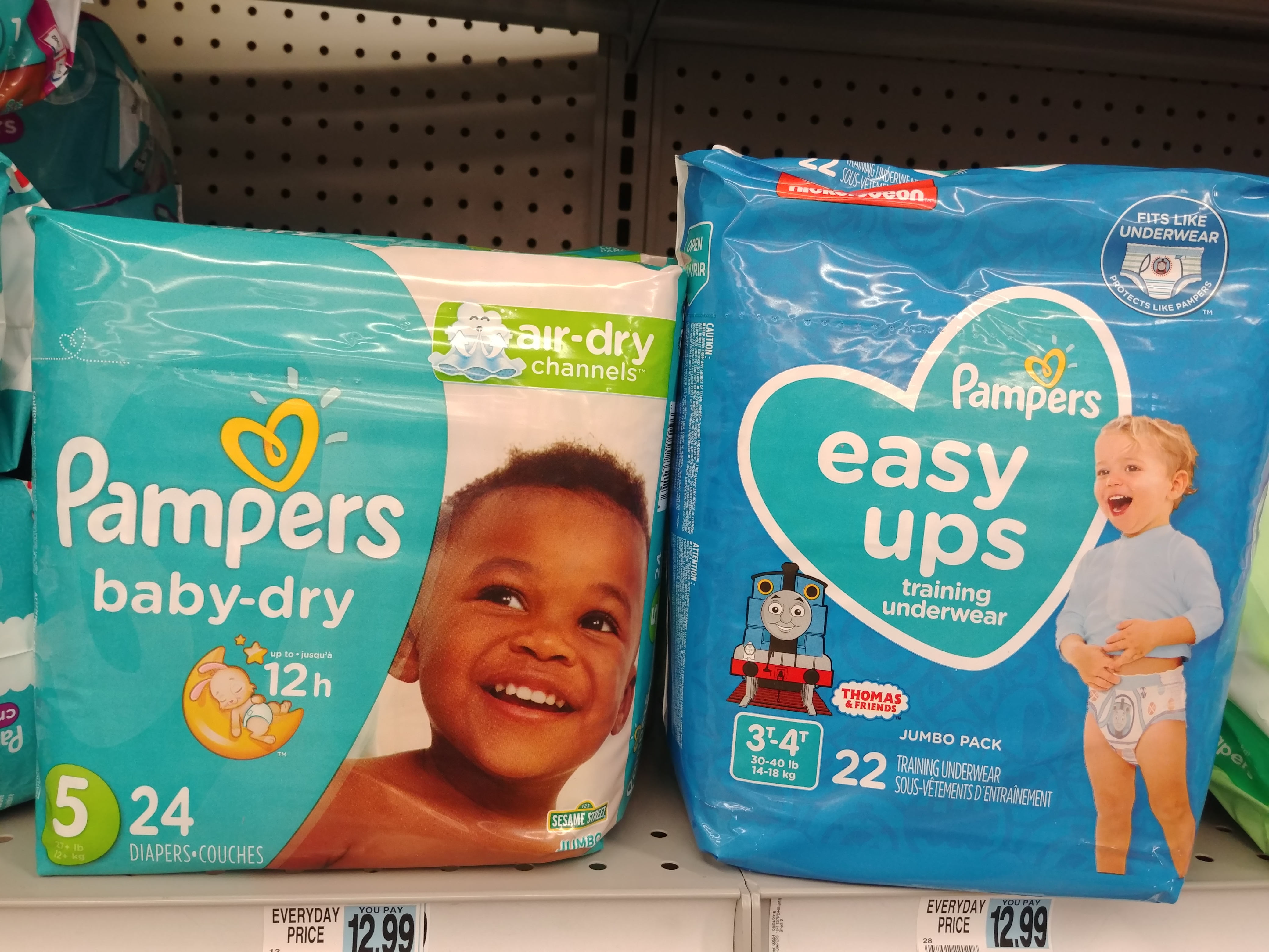 Pampers Diapers at Rite Aid