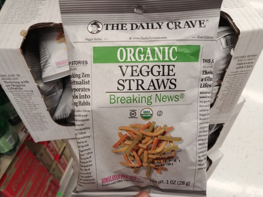 The Daily Crave Veggie or Lentil Chips at ACME
